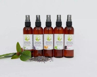 New! AromaTherapy Mists and Mist packs (Full/Travel sized)