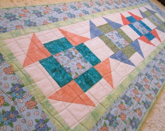 Shabby Chic Quilted Table Runner