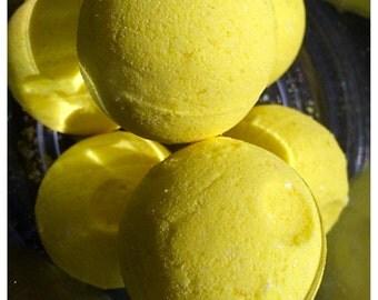 Raspberry Lemonade Bath Bombs - Citrus Bath Bombs - Berry Bath Bombs - Vegan Bath Bombs - Bath Fizzies - Made Fresh - Ready to Ship!