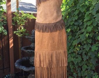 Pocahontas Inspired Native American Princess Costume, size 3/4