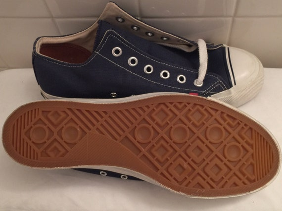 on sale vintage nos pro keds canvas running shoes s