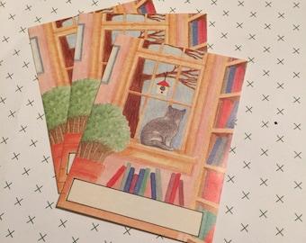 Vintage Kitty Cat Bookplates