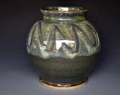Vermont Mountain Ceramic Vase Handmade Flower Vase B