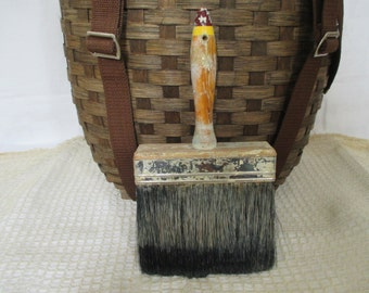 Vintage Wallpaper Paint Brush - Large Brush - Chippy Paint - Industrial, Cottage, Country Decor