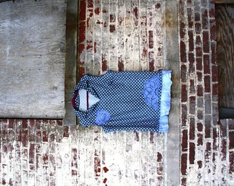 2X size /The Hidden Door Top/  Eco /One of a kind / Boho / Country living / Cottage Chic