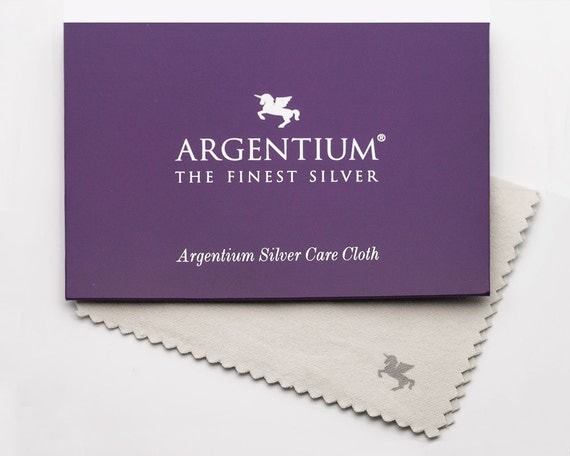 Argentium silver polishing cloth, anti-tarnish, silver cleaner
