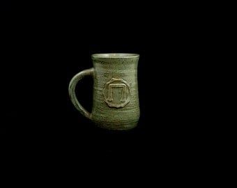 Stoneware Earth Elemental Cup