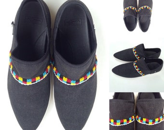 Beaded Sanuk Shoes