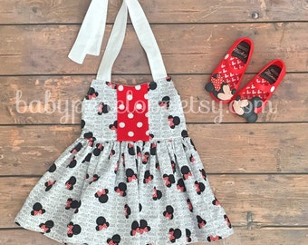Minnie Mouse Halter Tunic Top