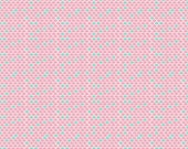 Lulabelle Scallops in Pink Fabric by Riley Blake - 1 Yard
