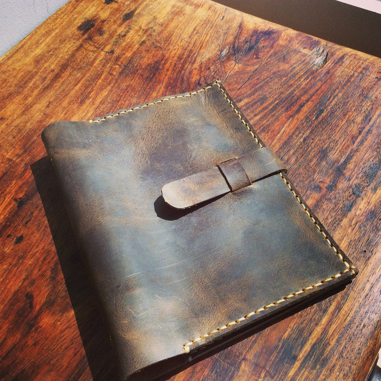 Small Loose Leaf Binder 5.5 X 8.5 Custom A5 Notebook Daily