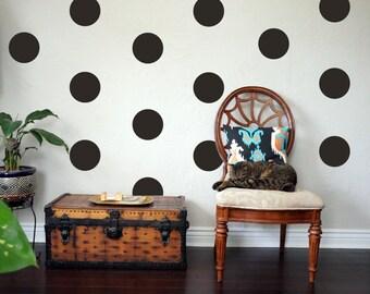 POLKA DOT Wall Decal   Polka Dot Decals, Dot Wall Decal, Girl Wall Decal Part 38