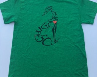 LARGE - Antique Irish Green Rescue T-shirt