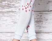 ON SALE Leg Warmers - Cherry Blossom