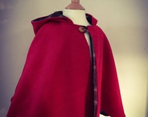 how to make a childrens red riding hood cape