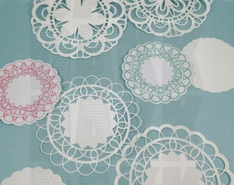 Doily PNG and SVG files