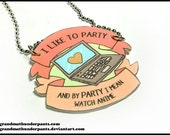 Anime Party Necklace