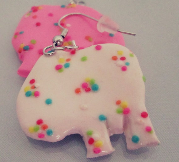 Animal Cookie Earrings