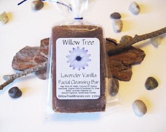 Lavender Vanilla - Natural Facial Cleansing Bar