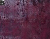 Snake Skin Velvet Sublte Shine Fabric by the yard - Reptile - VB1008