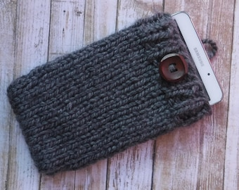 Chunky Knit Sweater Sleeve For Ipad, Tablet, EReader, Cell Phone / 14 Color Options