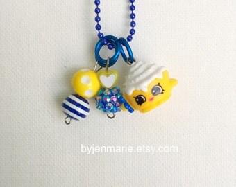Shopkin Charm Necklace Cindy Bon Season 4