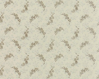Snowbird by Laundry Basket Quilts - Frozen in Time in Vanilla Cocoa (42170-12) - Moda - 1 Yard