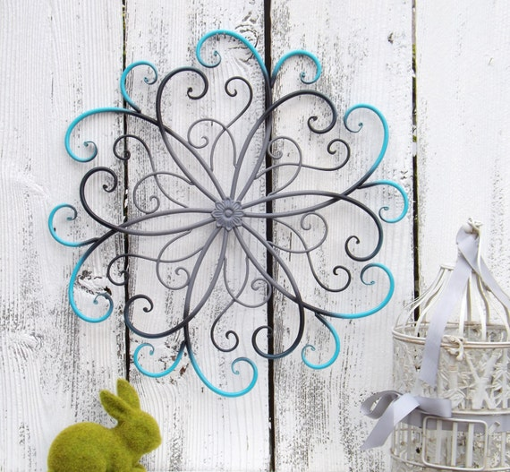 Metal Wall Decor For Bedroom : On sale large metal wall art bedroom decor by