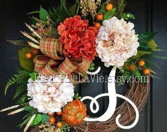 Fall Wreaths for Front Door, Fall Wreaths, Wreaths for Door, House Warming Gift, Seasoanl Door Wreaths, Front Door Wreaths