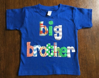 Big Brother Shirt- Big Brother Pregnancy Announcement Shirt- Big Bro Shirt