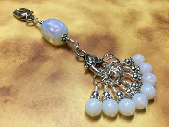 Stitch Markers & Knitting Lanyard Snag Free Sea Opal Stitch