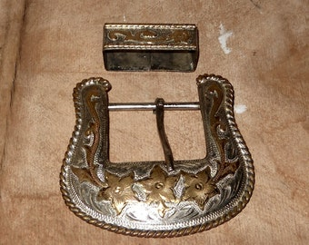 Men's Belt Buckle - Alpaca Mexico