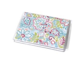 Card Case Mini Wallet Sperry Aqua