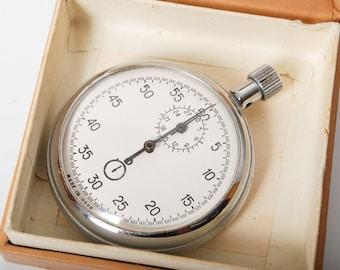Vintage sport stopwatch. Chronometer. From Soviet Union.
