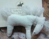 Handmade horse pin