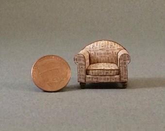 Quarter Inch Scale Furniture - Over Stuffed Chair