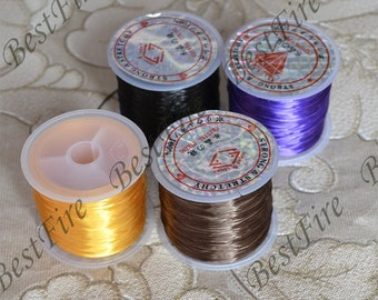 10 meters Strong Stretchy Elastic String, Crystal Beading Cord Line,Elastic String Crystal Thread