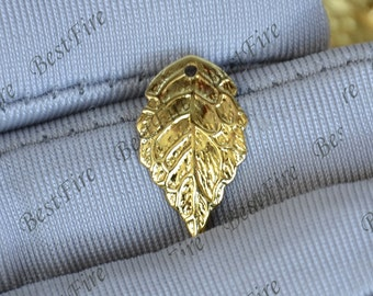 20pcs gold tone leaf flower Filigree Jewelry Connectors Setting,Connector Findings,Filigree Findings,flower Filigree