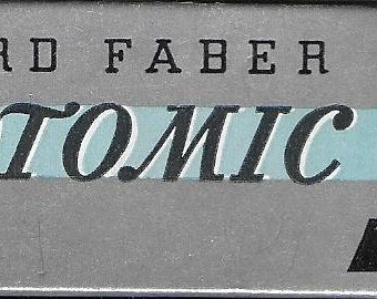 Vintage Mid Century Art Supplies - Eberhard Faber Microtomic Drawing Leads - No. 610