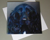 Breagha the Dog art card ...