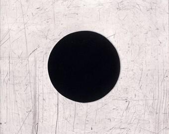 Sleep Hole - original mezzotint and drypoint
