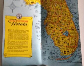Vintage Florida Souvenir Ephemera