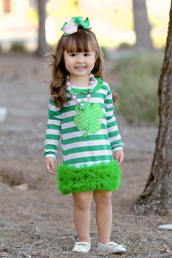 Girls St Patricks Day Outfit St Patricks by