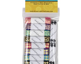 Puzzles Multi Pack of Printed Fold Over Elastic 10yd