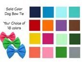 Dog Bow Tie / Custom Dog Bow Tie / Dog Bowtie / Dog Collar Accessory / Bow Tie for Dog / Custom Dog Bow