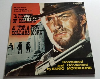 A Fistful of Dollars and For a Few Dollars More - Music from the Original Soundtracks - LP Vinyl Record Album - Clint Eastwood / Western