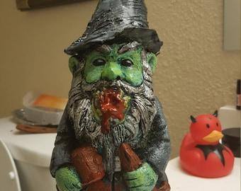 Demon lawn gnome