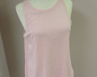 Pink t-shirt brand new with lace bottom - XL and L
