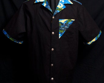 Accent Go Van Gogh limited-edition ultra-high quality men's shirt