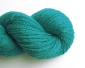 Sport Weight Cashmere Recycled Yarn, Turquoise, 230 Yards, Lot 060116